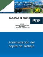 Administración de Capital de Trabajo Ejercicios
