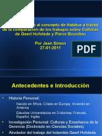 2011 01 27 Bourdieu y Cultura