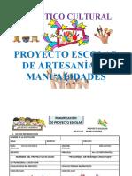 Proyecto de Artesanías  y Manualidades