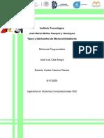 Tipos y fabricantes de Microcontroladores_RCCR