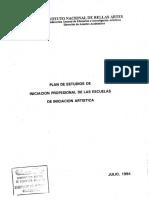 INICIACION PROF MUSICA Y DANZA , 1994 -