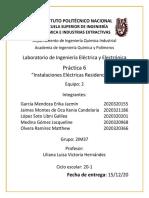 Práctica 6 LIEyE-Instalaciones eléctricas