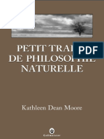 Petit traite de philosophie nat - Moore, Kathleen Dean