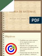 administración sistemica