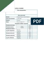 Formatos Test Físico y Fichas Antropométrica AP06 EV04.