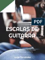 Escalas de Guitarra - Scales  on guitar