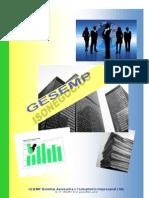 Portfólio GESEMP ISO 9001 ISO 14001 Rev1
