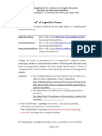10-02 'Complement' of Appositive Nouns and Adjectives.doc