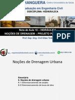 10-Hidraulica-Drenagem - PROJETO PASSO A PASSO