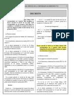 Décret exécutif n 18-02 FR restriction importation