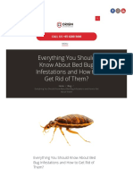 Complete Guide of How to Get Rid of Bed Bugs | Singapore | Origin Exterminators