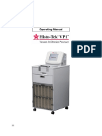 Operating Manual Histo-Tek VP1 (GB)