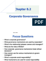 Chapter 8.2 - Corporate Governance