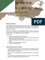 Firma electrónica y Sello digital.pdf