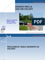 Gli Interventi Per La Salute Dei Ciclisti