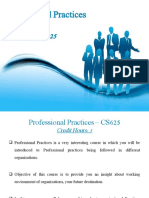 week 0 Introduction to Professional Practices