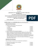 ICT 2017 exam