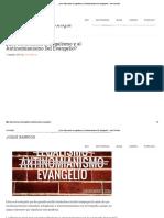 ¿Qué Diferencian al Legalismo y al Antinomianismo