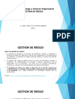 Diapositivas Gestión de Riesgo