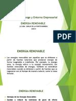 Diapostivas Energia Renovables