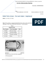 Relief Valve (Line) - Test and Adjust - Implement