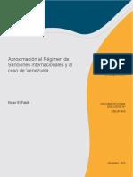 Aproximación Al Régimen de Sanciones Internacionales y Al Caso de Venezuela