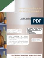 FORMAS FARMACEUTICAS PARTE 1