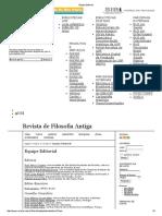 Revista de Filosofia Antiga - Equipe Editorial