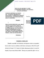 Loeffler Perdue lawsuit over signature matching
