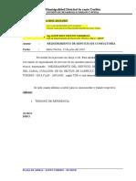 informe N 0040 -2020 - st - informe requerimiento servicio de elab. expediente tecnico canal cuillush