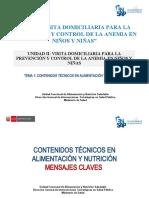 Tema 1 Contenidos Nutricion infantil  para VD niño
