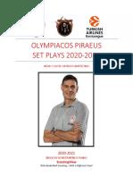 Olympiacos Piraeus Playbook 2020-2021