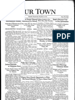 Our Town December 25, 1931