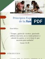 Principios espirituaeles de la familia