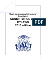 1. Constitution Music Undergraduate Students' Association