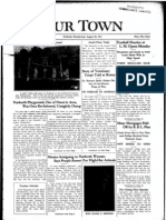 Our Town August 28, 1931