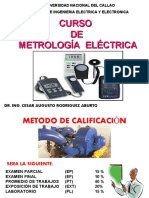 CURSO METROLOGÍA ELÉCTRICA SEMANA 1