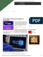 Como testar o desempenho gráfico do computador _ Dicas e Tutoriais _ TechTudo