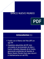 Bnm - NBK Status Report Prepared by SBS Peru