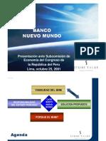 Bnm - Presentación ante Congreso Peru