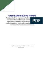 Bnm - Resumen de Evaluacion de Auditorias Externas