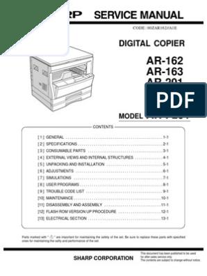 Cartucce toner TONER per Sharp ar-m-160 ar-m-207-e ar-206
