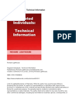 Targeted Individuals Technical Information