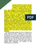 DE LOS DECRETOS DEL YO SOY
