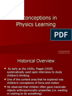 Misconceptions in Physics Learning - Lecture 5.ppt