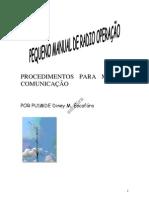 manual de radio operação