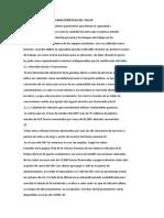 DETERMINACIÓN DE LAS CARACTERÍSTICAS DEL TALLER