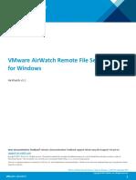 AirWatch Remote File Server Guide for Windows v9_2