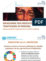 4. Measuring SDG 16.2.2 Victims of Trafficking