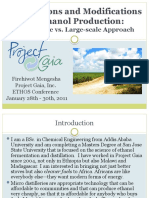 """""""Gaia Lessons and Modifications – Small Scale vs. Large Scale Approach"""" - Firehiwot Mengesha Ethos 2011 Presentation"""